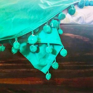 Other - ~Turquoise Dip-Dyed Fabric~